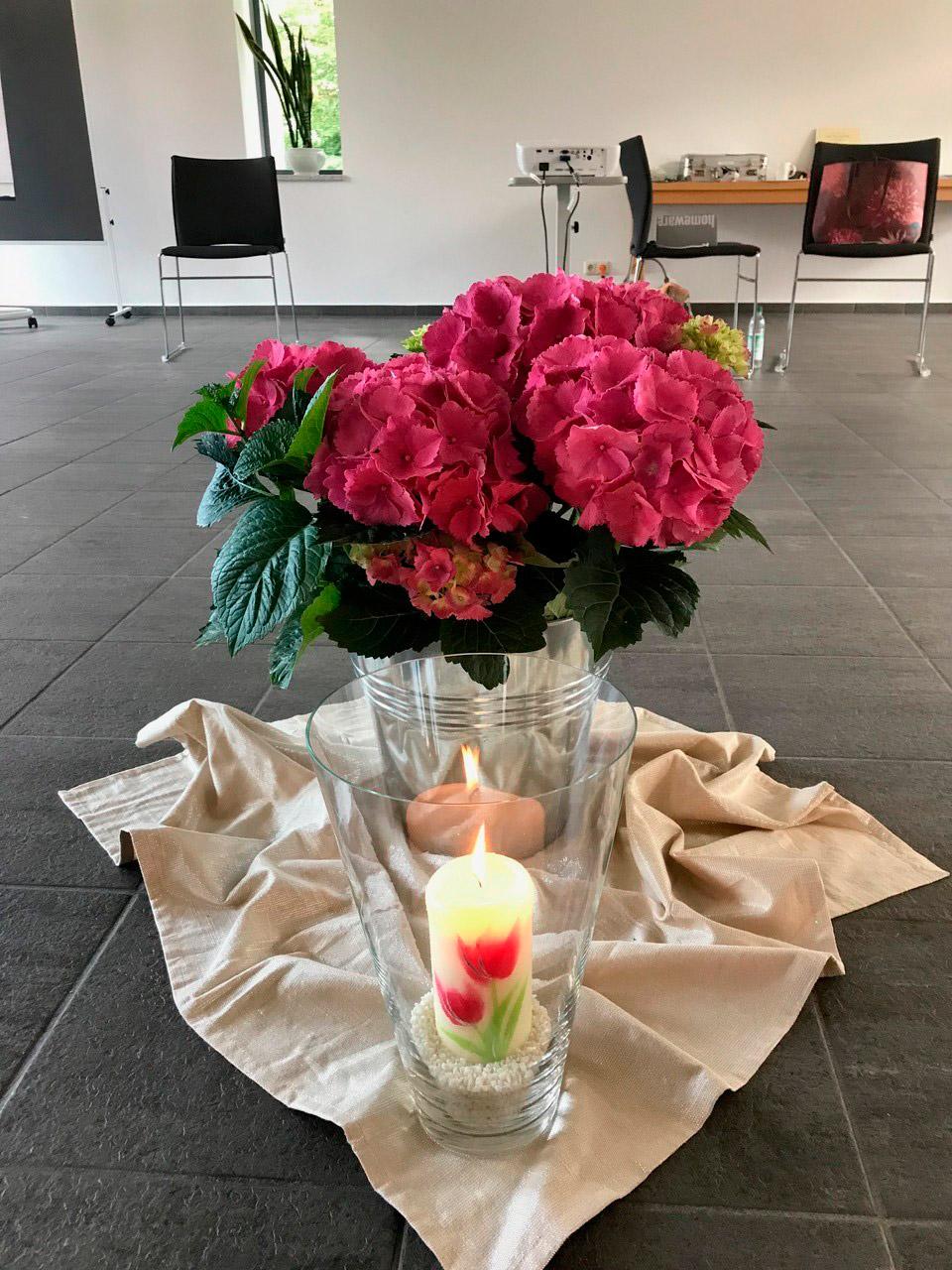 Kurswoche Seminarraum | Stiftungfonds Heilwig