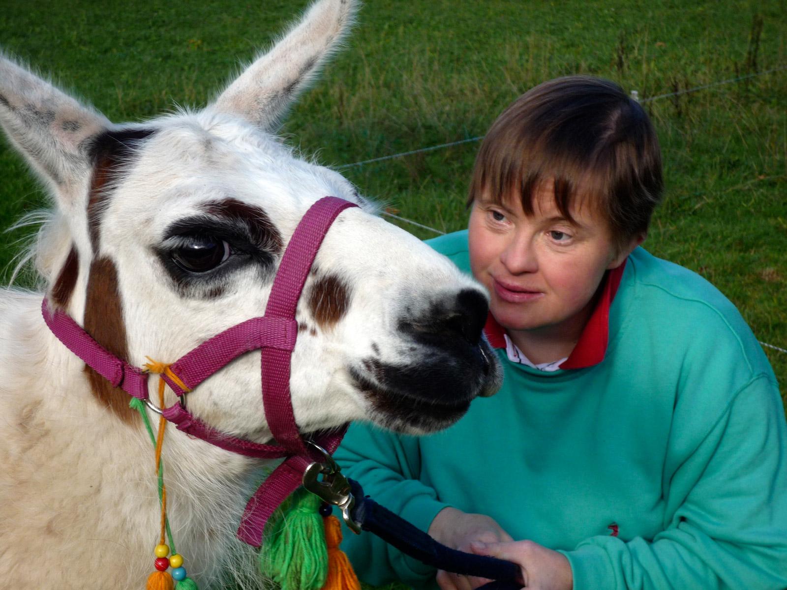 Lamatherapie | © Stiftungsfonds Heilwig