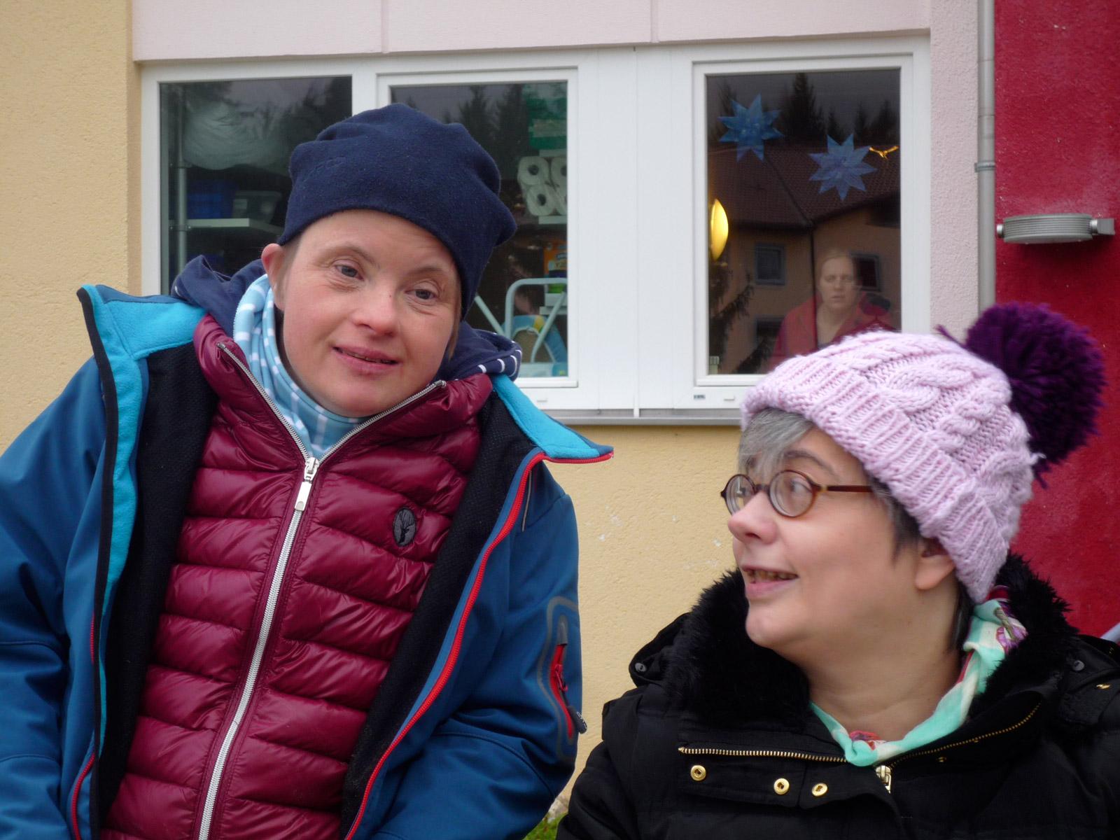 Heilwig Beckers mit Freundin | © Stiftungsfonds Heilwig