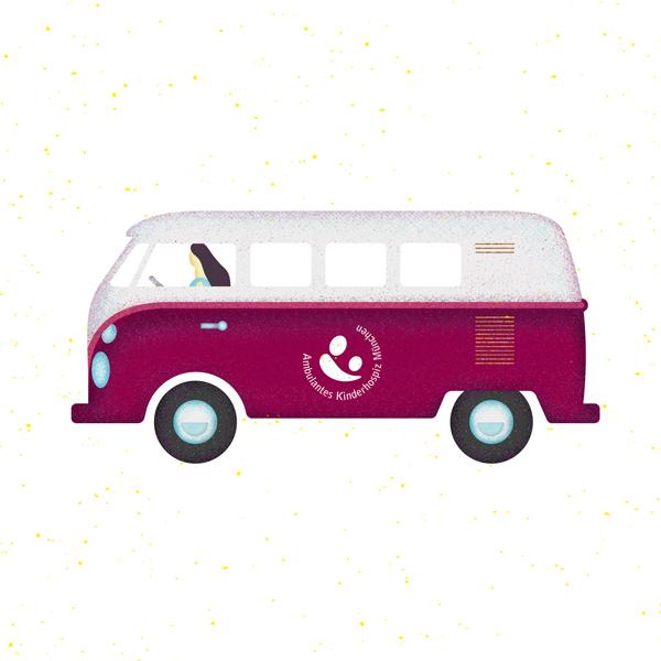 Beratungsbus für das Kinderhospiz in München